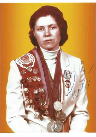 Olympics Nailya Gilyazova signed 6x4 colour photo of