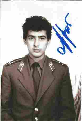 Olympics Ilgar Mammedov signed 6x4 black and white