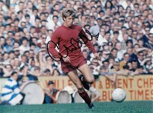 Autographed Colin Bell 8 X 6 Photo - Col, Depicting The