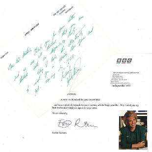 Collection of TV & Film Correspondence and Signed