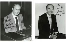 Henry Mancini signed 10x8 black and white photo