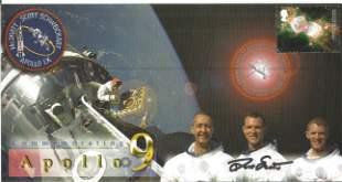 Space Moonwalker Dave Scott NASA Astronaut signed 2002