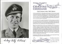 RAF, Audrey Hilly Hillard, Flight Lieutenant, signed
