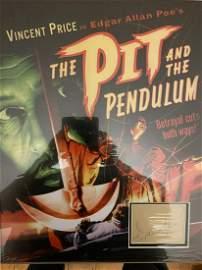 Vincent Price, Superb 19x15 inch display piece housing