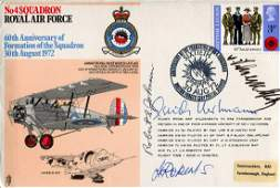 WW2 aces. RAF cover signed by Luftwaffe ace Erich