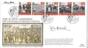 Major John Howard DSO signed FDC The D Day Landings