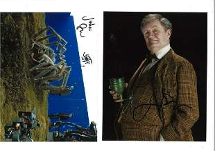 Harry Potter collection two 10 x 8 colour photos signed