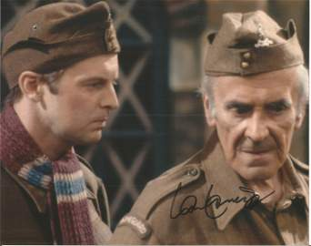 Ian Lavender signed 10x8 colour image. Taken from his