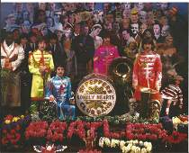 Peter Blake signed Sgt Pepper's Magical Mystery Tour in
