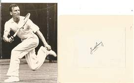 Fred Perry (1909-1995) Tennis Legend Signed Vintage
