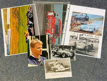 Motor Racing Collection of 6 Formula One and other