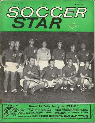 Football, a collection of 5 vintage Soccer Star