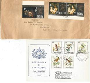 A Selection of FDC and Commemorative Covers from San