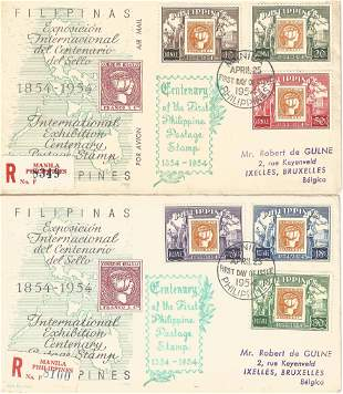 A Pair of Commemorative Covers from The Philippines,