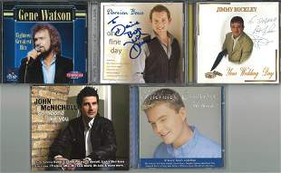 A Selection of Five Signed CDs, Jimmy Buckley, John