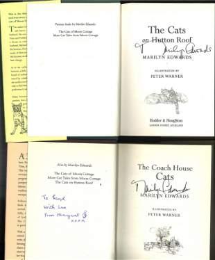 Signed Book Collection, 4 Marilyn Edwards Hardback