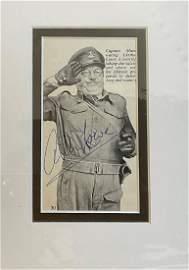 Peter Davenport signed 16x12 colour photo. Good