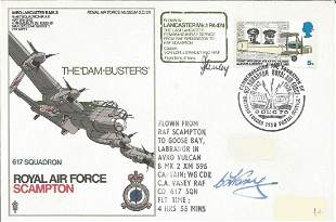 RAF Scampton Lancaster Dambuster cover SC30, flown and