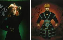 Toyah Wilcox two signed 10x8 colour photos fantastic