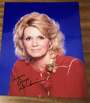 Angie Dickinson Signed 10x8 Colour Photo. Dedicated.