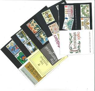 GB Mint stamps twenty Presentation packs, inc. Fishing,