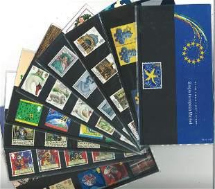 GB Mint stamps twenty Presentation packs, inc. Queens