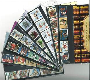 GB Mint stamps fifteen Presentation packs, all