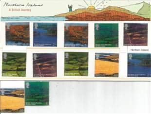 GB Mint stamps Northern Ireland 2004 presentation pack