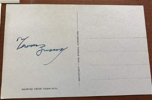 Everest signed Collection inc. Tenzing Norgay signed