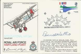 Dambusters Sir Barnes Wallis signed RAF Hartland Point