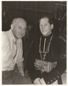 Cecil B DeMille signed black and white 10 x 8 photo