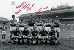 Football Autographed Liverpool 12 X 8 Photo - B/W,