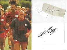 Football Collection Signed and Unsigned Magazine