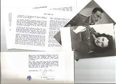 WW2 Resistance Leader Henri Tardivat and Nancy Wake