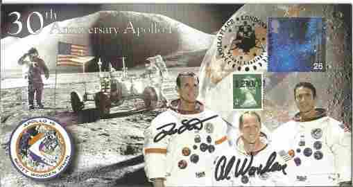 Space Moonwalker Dave Scott and Al Worden NASA