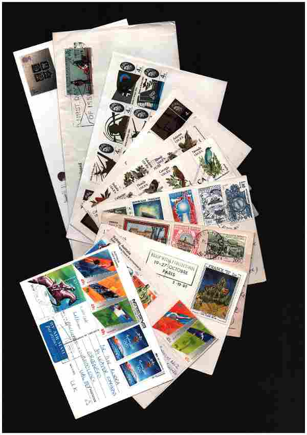 Glory folder. Includes covers from GB and Guernsey. GB