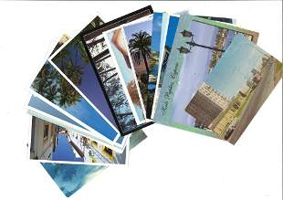 Postcard collection 16 cards from around the world plus