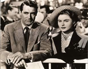 Cary Grant signed 10x8 black and white original RKO