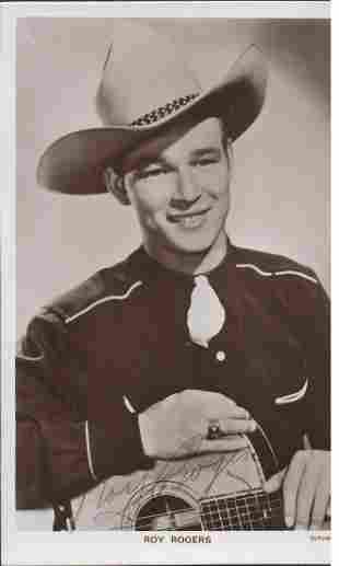Roy Rogers (1911-1998) Western Singer and Actor Signed