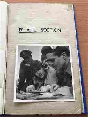World War II hardback book History of the No8 Air
