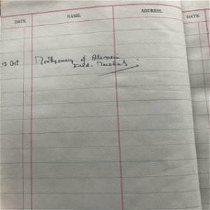 Field Marshall Viscount Montgomery of Alamein signed
