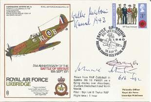 World War II AVM Johnnie Johnson and Major Walter