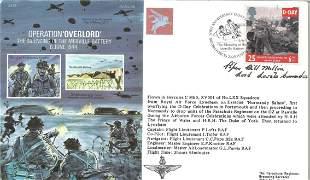 World War II Piper Bill Millin signed Operation