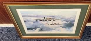 World War II Sgt Norman Jackson VC, Bill Reid VC and