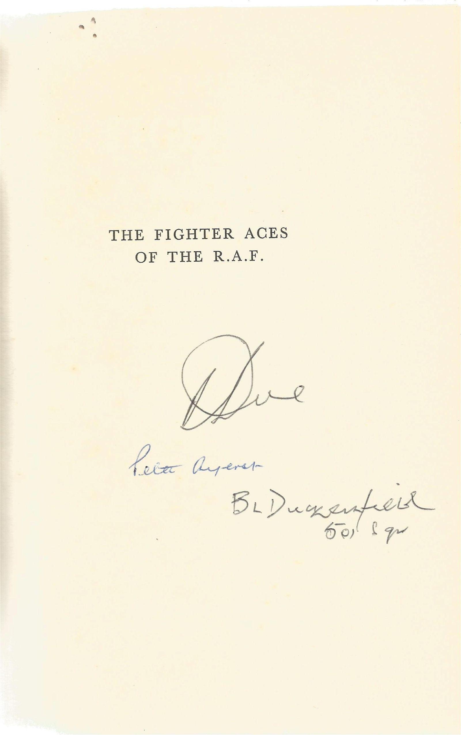 World War II multi signed hardback book titled The