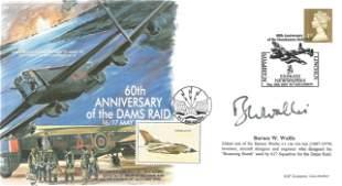 Barnes Wallis SON on WW2 designer signed on 60th ann