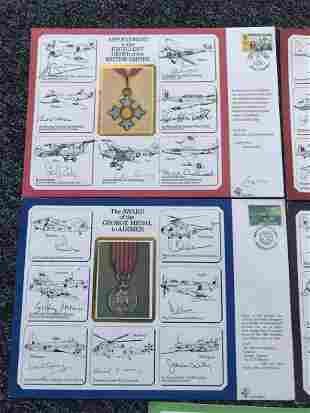 World War II DM Medal Large Cover Collection 5