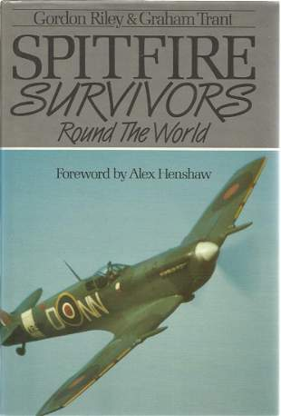 Gordon Riley and Graham Trant. Spitfire Survivors Round