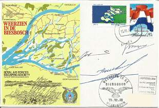 WW2 resistance multiple signed cover. Jan W.