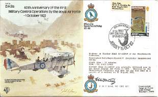 F. M. F. West VC CBE MC signed 60th Anniversary of the